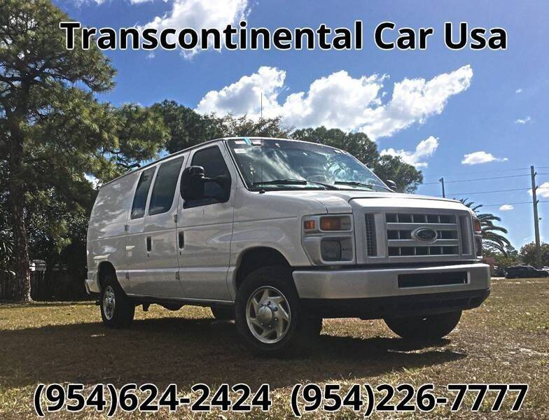 2008 Ford E-Series Cargo for sale at Transcontinental Car in Fort Lauderdale FL