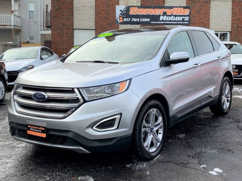 2018 Ford Edge for sale at Somerville Motors in Somerville MA