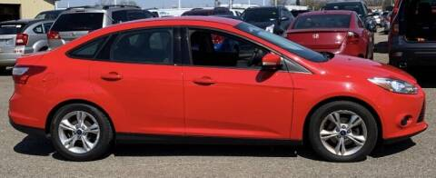 2014 Ford Focus for sale at Tomasello Truck & Auto Sales, Service in Buffalo NY