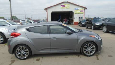 2012 Hyundai Veloster for sale at Jefferson St Motors in Waterloo IA