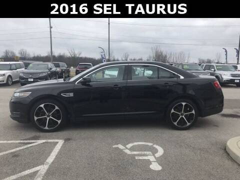 2016 Ford Taurus for sale at Cj king of car loans/JJ's Best Auto Sales in Troy MI