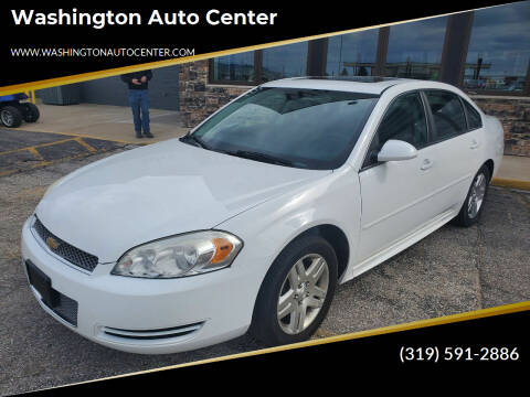 2013 Chevrolet Impala for sale at Washington Auto Center in Washington IA
