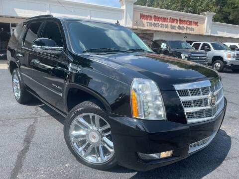 2013 Cadillac Escalade for sale at North Georgia Auto Brokers in Snellville GA