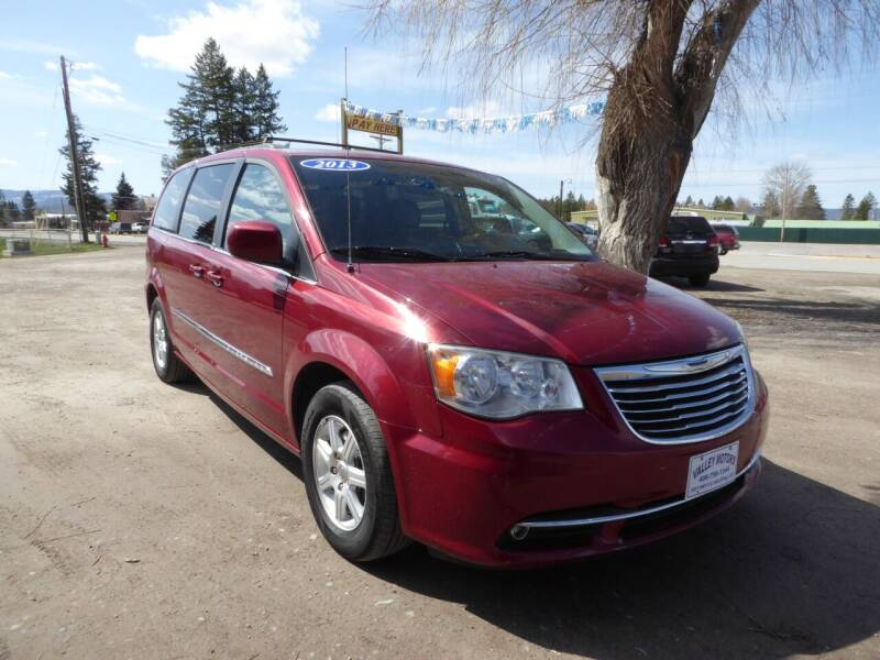 2013 Chrysler Town and Country for sale at VALLEY MOTORS in Kalispell MT