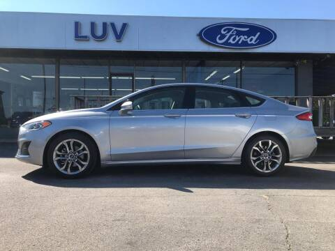 2020 Ford Fusion for sale at Luv Motor Company in Roland OK