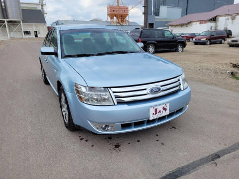2008 Ford Taurus for sale at J & S Auto Sales in Thompson ND