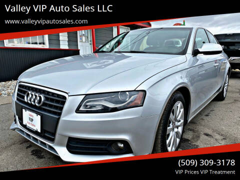 2011 Audi A4 for sale at Valley VIP Auto Sales LLC in Spokane Valley WA