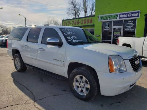2008 GMC Yukon XL for sale at Empire Auto Group in Indianapolis IN