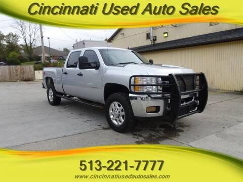 2012 Chevrolet Silverado 2500HD for sale at Cincinnati Used Auto Sales in Cincinnati OH