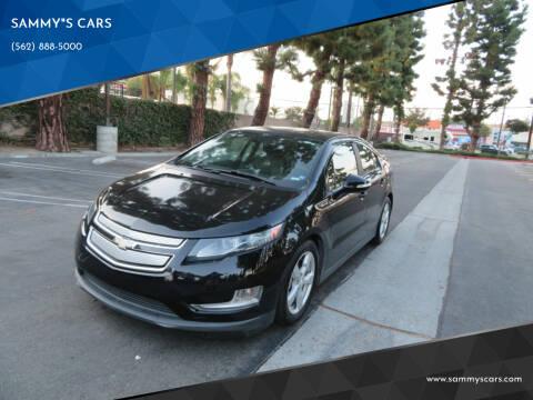 "2013 Chevrolet Volt for sale at SAMMY""S CARS in Bellflower CA"