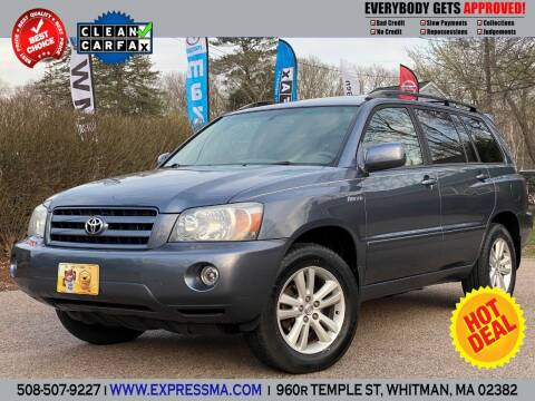 2005 Toyota Highlander for sale at Auto Sales Express in Whitman MA