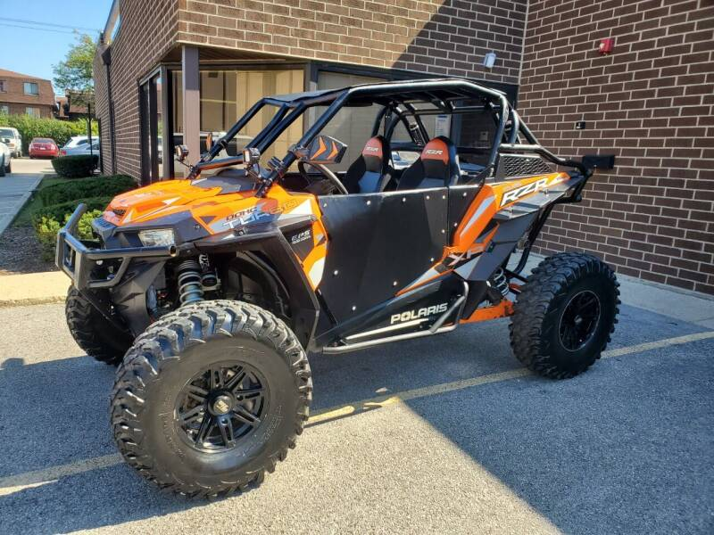 2016 Polaris RZR Turbo for sale at Toy Barn Inc in Bensenville IL