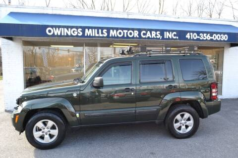 2011 Jeep Liberty for sale at Owings Mills Motor Cars in Owings Mills MD