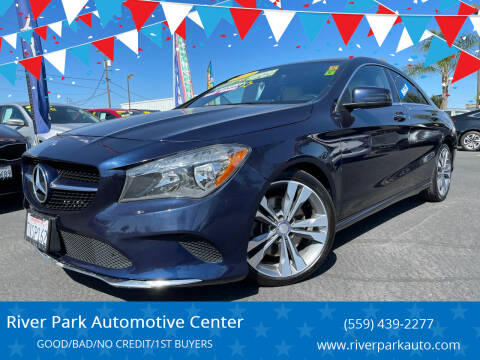 2017 Mercedes-Benz CLA for sale at River Park Automotive Center in Fresno CA