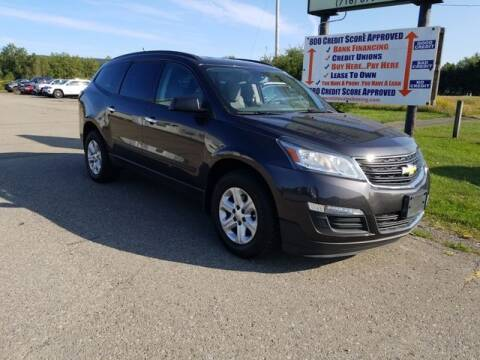 2014 Chevrolet Traverse for sale at Sensible Sales & Leasing in Fredonia NY