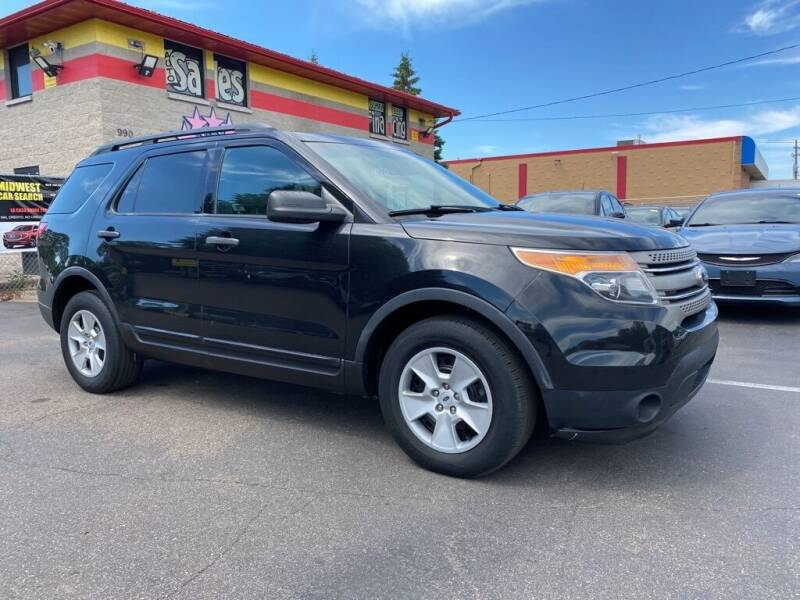 2013 Ford Explorer for sale at MIDWEST CAR SEARCH in Fridley MN