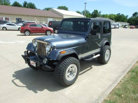 1985 Jeep CJ-7 for sale at Koop's Sales and Service in Vinton IA