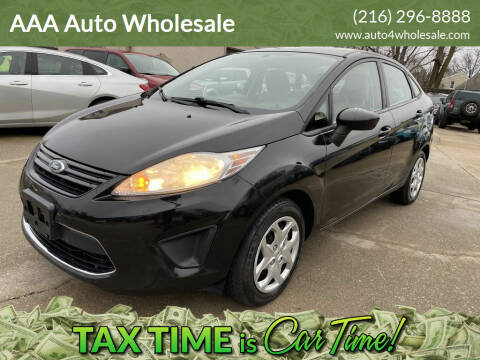 2011 Ford Fiesta for sale at AAA Auto Wholesale in Parma OH
