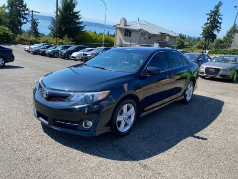 2012 Toyota Camry for sale at KARMA AUTO SALES in Federal Way WA