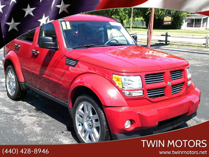 2011 Dodge Nitro for sale at TWIN MOTORS in Madison OH
