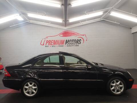 2004 Mercedes-Benz C-Class for sale at Premium Motors in Villa Park IL