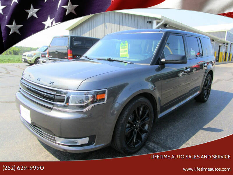 2018 Ford Flex for sale at Lifetime Auto Sales and Service in West Bend WI