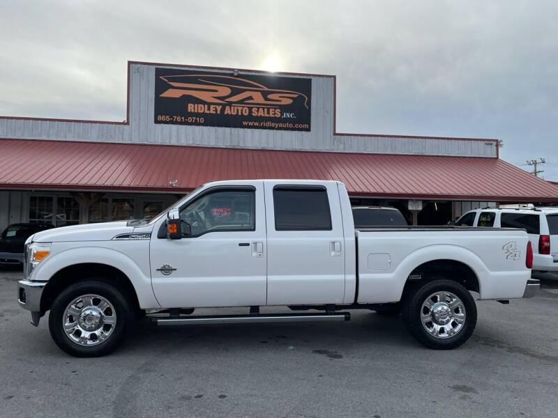 2012 Ford F-250 Super Duty for sale at Ridley Auto Sales, Inc. in White Pine TN