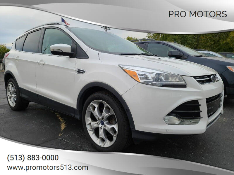 2014 Ford Escape for sale at Pro Motors in Fairfield OH