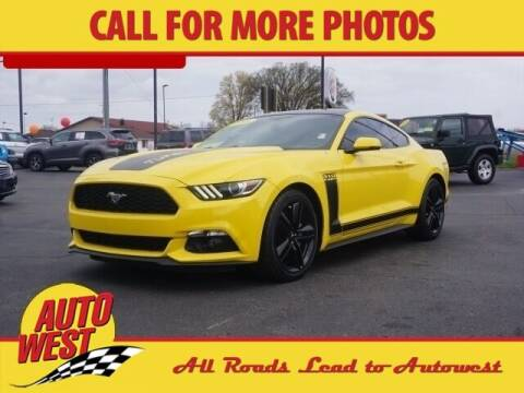 2016 Ford Mustang for sale at Autowest of Plainwell in Plainwell MI