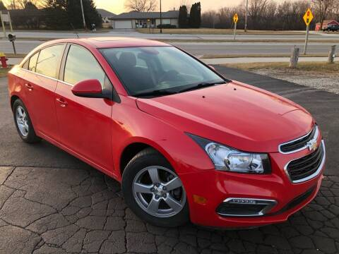 2016 Chevrolet Cruze Limited for sale at Wyss Auto in Oak Creek WI