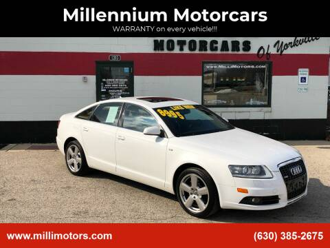 2008 Audi A6 for sale at Millennium Motorcars in Yorkville IL