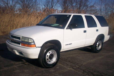 2004 Chevrolet Blazer for sale at Action Auto Wholesale - 30521 Euclid Ave. in Willowick OH