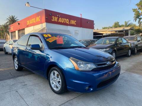 2009 Ford Focus for sale at 3K Auto in Escondido CA