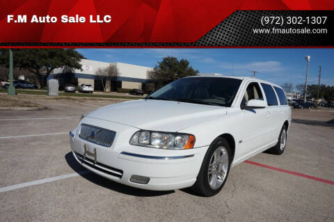 2006 Volvo V70 for sale at F.M Auto Sale LLC in Dallas TX
