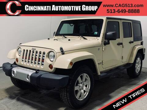 2011 Jeep Wrangler Unlimited for sale at Cincinnati Automotive Group in Lebanon OH