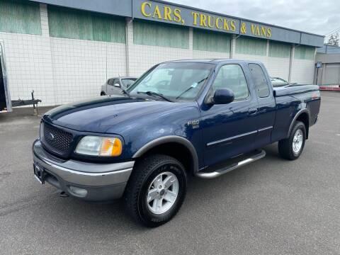 2002 Ford F-150 for sale at Vista Auto Sales in Lakewood WA