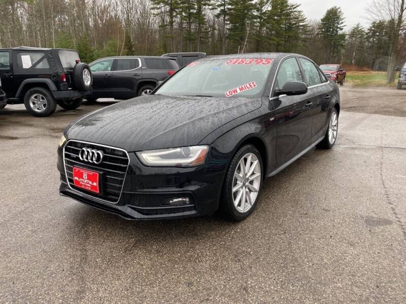 2015 Audi A4 for sale at AutoMile Motors in Saco ME