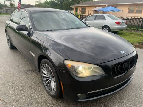 2011 BMW 7 Series for sale at Eden Cars Inc in Hollywood FL