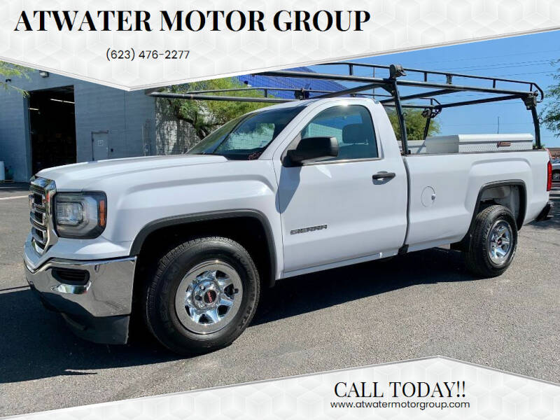 2016 GMC Sierra 1500 for sale at Atwater Motor Group in Phoenix AZ