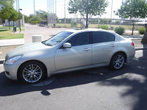 2007 Infiniti G35 for sale at J & E Auto Sales in Phoenix AZ