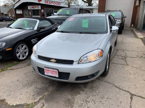 2011 Chevrolet Impala for sale at Frank's Garage in Linden NJ