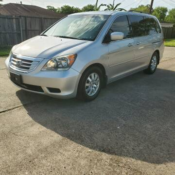 2010 Honda Odyssey for sale at MOTORSPORTS IMPORTS in Houston TX