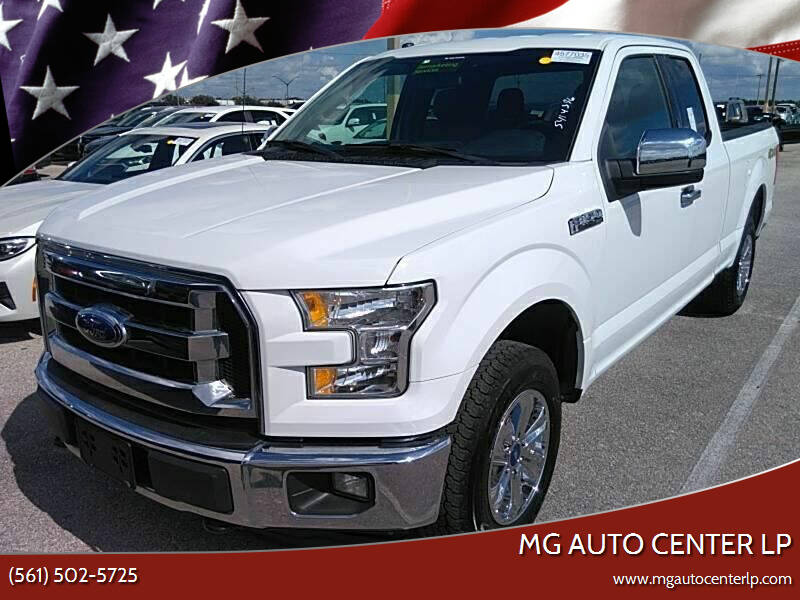 2017 Ford F-150 for sale at MG Auto Center LP in Lake Park FL