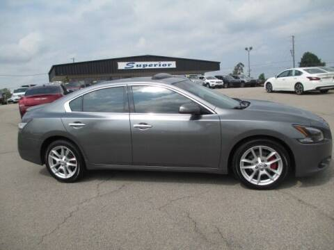 2014 Nissan Maxima for sale at SUPERIOR CHRYSLER DODGE JEEP RAM FIAT in Henderson NC