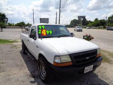 1999 Ford Ranger for sale at SCOTT HARRISON MOTOR CO in Houston TX