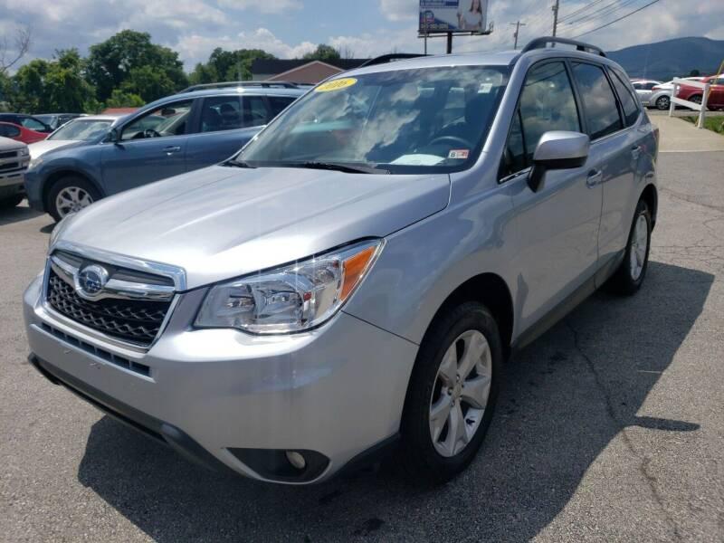 2016 Subaru Forester for sale at Salem Auto Sales in Salem VA