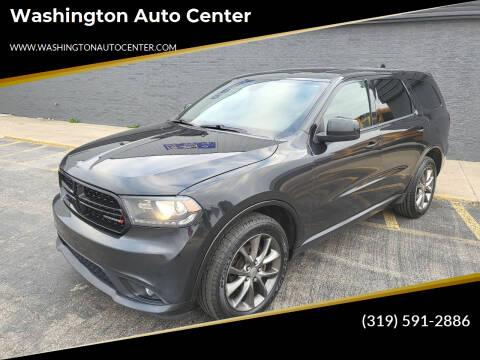 2015 Dodge Durango for sale at Washington Auto Center in Washington IA