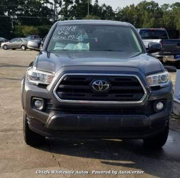 2018 Toyota Tacoma for sale at Special Finance of Charleston LLC in Moncks Corner SC