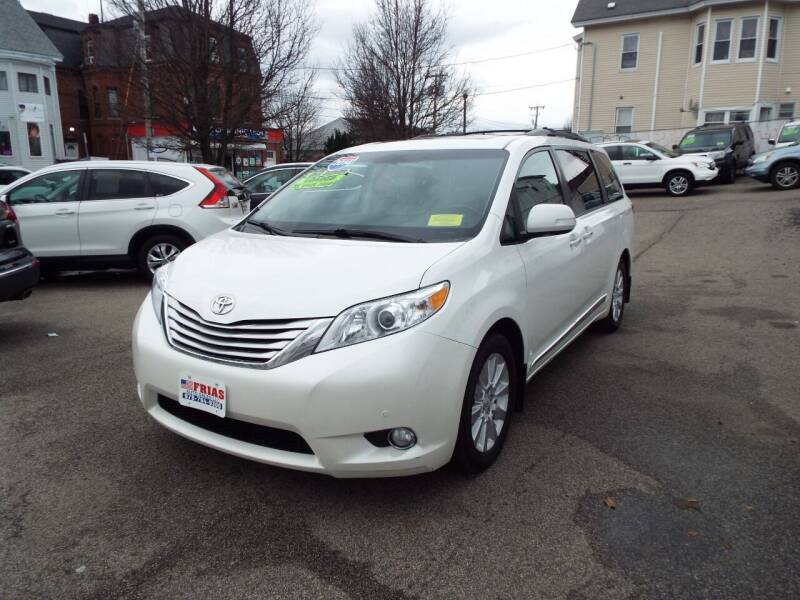 2014 Toyota Sienna for sale at FRIAS AUTO SALES LLC in Lawrence MA