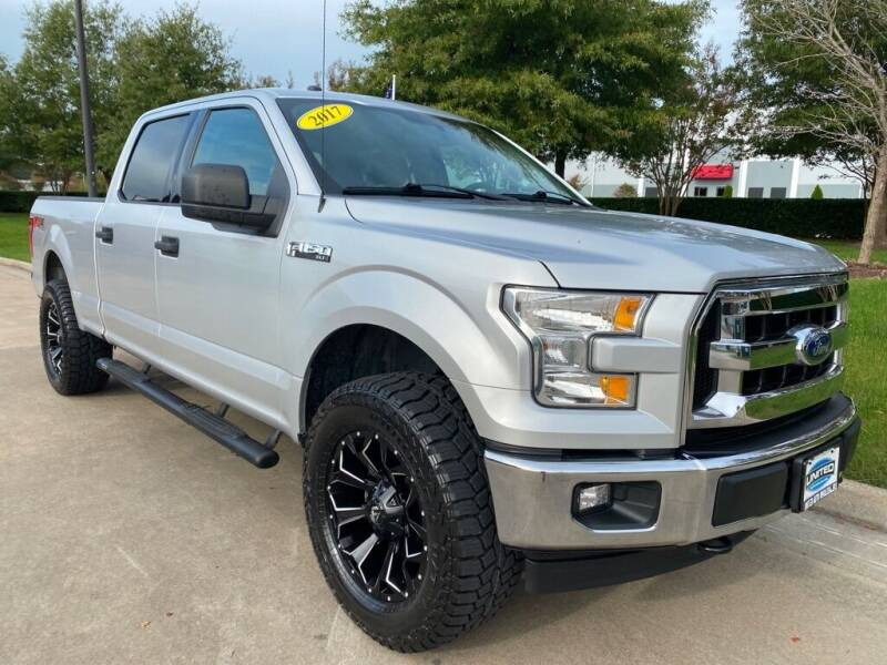2017 Ford F-150 for sale at UNITED AUTO WHOLESALERS LLC in Portsmouth VA